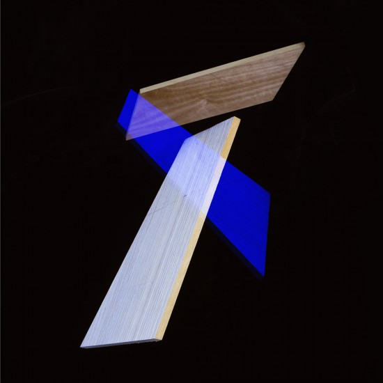 Blue, White Composition, 2014