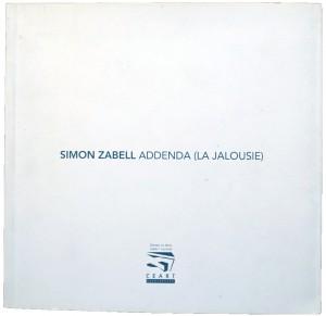 Simon Zabell - Addenda (La Jalousie)