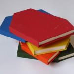 Books, 2014. 33 x 21 x 4 cm each