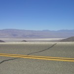 Death Valley (road lines), 2002. Archival inkjet print, 20 x 18 cm. Edition of 10