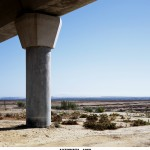 Sealevel. Highway-17 km- 1969, 2006.Color photograph, mounted on Dibond, Variable dimensions. Ed. 3+PA