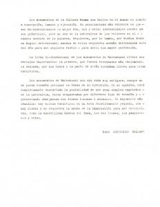 Carta Robert Belami