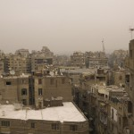 Ismailia view, Cairo, 2008. Inkjet print on cotton paper, variable dimensions.