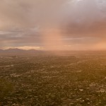 Phoenix from Camelback Mountain, Arizona, 2011. Archival pigment print on cotton paper, 150 x 190 cm. Ed. 5 + 2 AP