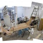 Those Woods II, 2014. Photography, wood, methacrylates and PVC, 97 x 136 x 3,5 cm.