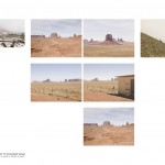 Monument Valley, Arizona-Utah, 2011. Set of 7 photographs, archival pigment on cotton paper, 43 x 56 cm. Edition of 10.