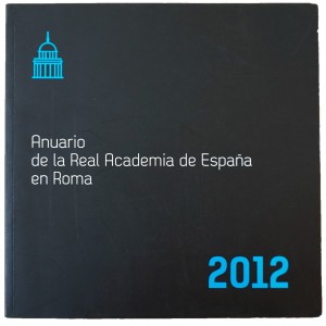 Anuario de la Real Academia de España en Roma,2012