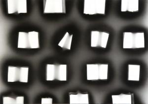 Simon Zabell. Rememorando a Le voyeur. Acrilico sobre lienzo. 2010. 140 x 200 cm