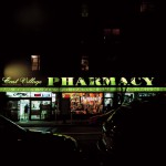 Pharmacy Manhattan, New York, 2001-2004. Silicone color photograph on methacrylate, 32 x 26 cm