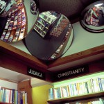 Bookstore Manhattan, New York, 2001-2004. Silicone color photograph on methacrylate, 32 x 26 cm