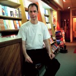 Librarian and bookseller Manhattan, New York, 2001-2004. Silicone color photograph on methacrylate, 32 x 26 cm
