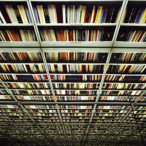 never ending wall os books. the library by Nicolas Grospierre (3)