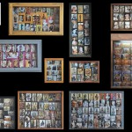 Collection of Typology, 2011-2014. 16 photographs mounted on wood mounted on a lacquered wooden panel, 103x 150 x 7 cm. Ed 1/5 +1pa