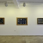Typologies, 2014. Exhibition view.