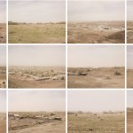 Chinle (dust storm) Navajo Nation Arizona, 2011. Set of 12 photographs archival pigment pint on cotton paper, 43 x 56 cm.  Edition of 10