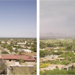 Four Phoenix View Arizona, 2011. Set of 4 photographs. Archival pigment print on cotton paper 43 x 56 cm. each. Edition of 10
