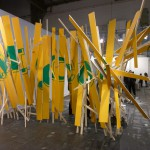 Parachute, 2010. Installation, variable dimensions, Preview Berlin.