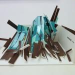 Waterwood, 2011. Vinyl, PVC, 30 x 22 x 21 cm.