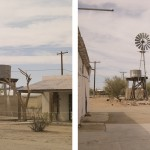 Quarzsite I, Arizona 2012. Diptych, archival pigment print on cotton paper. 59 x 71 cm each, Edition of 10.