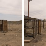 Quarzsite II, Arizona 2012. Diptych, archival pigment print on cotton paper. 59 x 71 cm each. Edition of 10