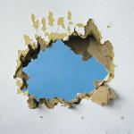 De-constructions White, Ochre, Blue, 2009 Digital C-Print, 83x99 cm Ed. 5+2 AP