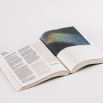 And I think to myselfffffff, 2012,. Four books intervened. Archival pigment print on offset paper. Variable dimensions. Ed. 25
