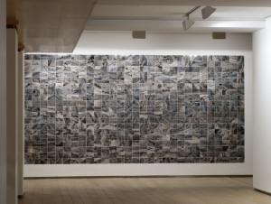 JORGE YEREGUI.Atajos, 2016. 551 fotografías de 10x13 cm. c.u. Archival print. Dimensión total variable. 3 MONOTIPOS