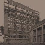 Heliopolis (Chorhoz Sanatorium), 2017. BW fibre base photographic paper, 116x94 cm.