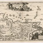 Iván Candeo, Map of Venezuela and the province of Nueva Andalucía by Henricus Hondius', 1606
