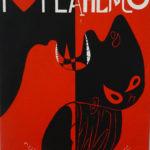 RAFAEL AGREDANO. I love flamenco,1991. Serigraphy on canvas. 41 x 27 cm