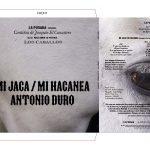 MI JACA / ANTONIO DURO, 2021 LAS CANTIÑAS DE JOAQUÍN EL CANASTERO. Vinyl record 3' 19''
